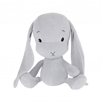 Effik Królik S personalizowany - Szary z szarymi uszami