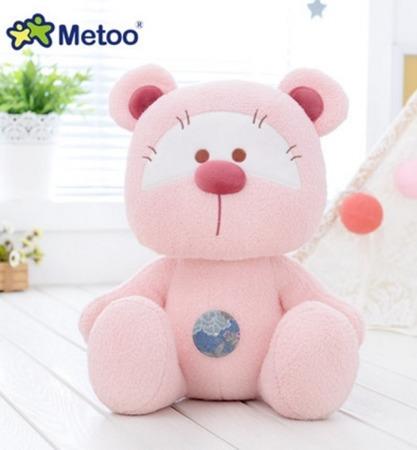 Miś Metoo personalizowany różowy