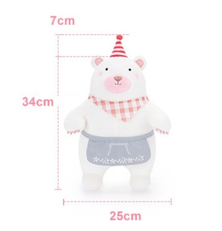 Metoo Personalized Bear in Red Cap
