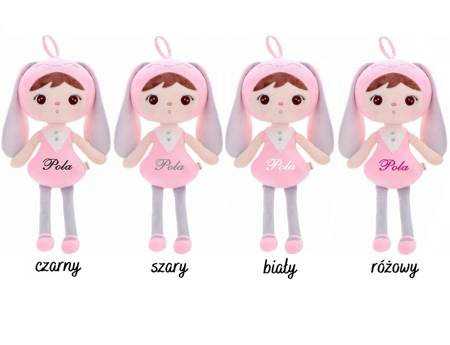 Metoo Personalized Bunny Girl Doll