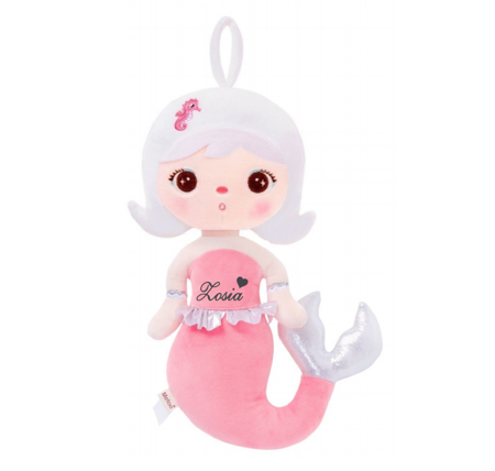 Metoo Personalized Mermaid Doll