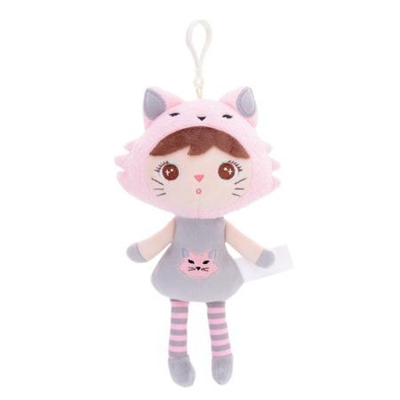 Metoo Personalized Mini Cat Girl Doll