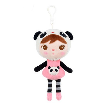 Metoo Personalized Mini Panda Girl Doll