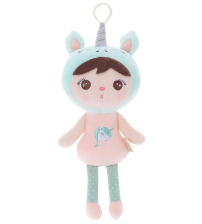 Metoo Personalized Mini Unicorn Girl Doll