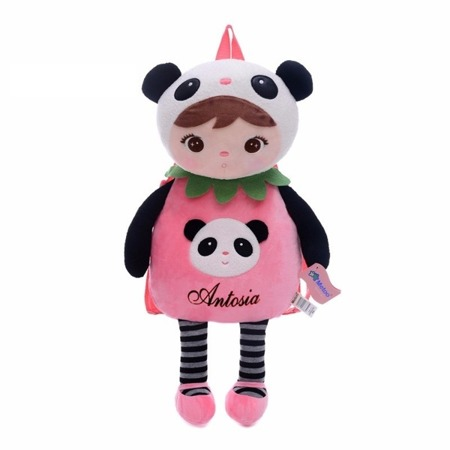 Metoo Personalized Panda Backpack