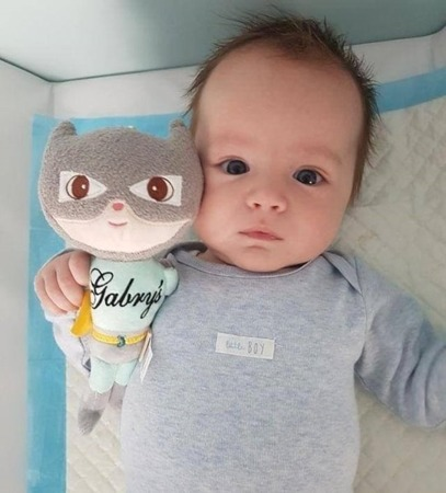Metoo Personalized Superhero Boy Doll