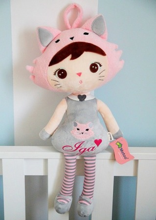 Metoo Personalizowana Cat Girl Doll