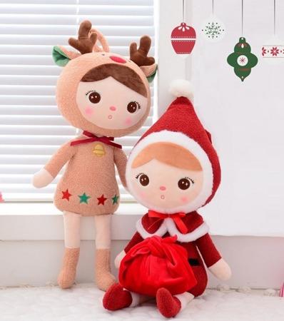 Metoo Santa Claus Girl Doll