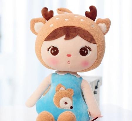 Metoo personalized Deer Girl XL Doll 70 cm