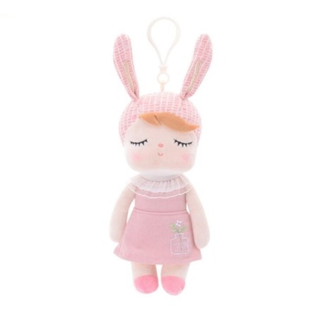 Mini Metoo Angela Bunny Doll in Pink Dress