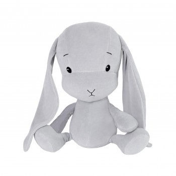 Personalized Bunny Effik S - Gray with Gray ears 20 cm