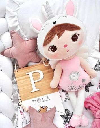 Lalka Metoo personalizowana Jednorożec Pastelowy